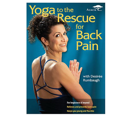 Yoga to the Rescue for Back Pain - DVD