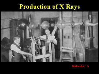 Production of x rays & generators