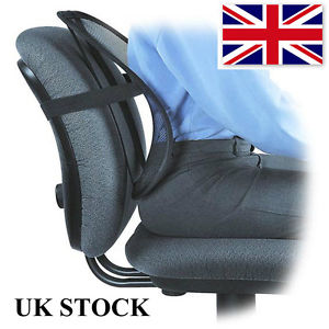 Back Support Lumbar Cushion Pain Relief Car Seat Chair Office Seat ...