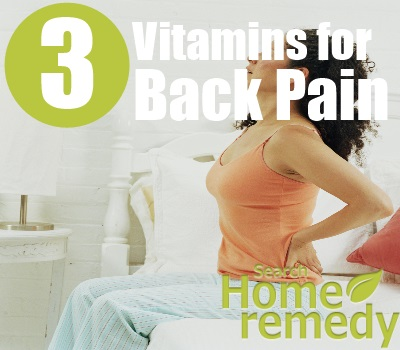 Vitamins for Back Pain Relief - How to Relieve Back Pain Naturally ...