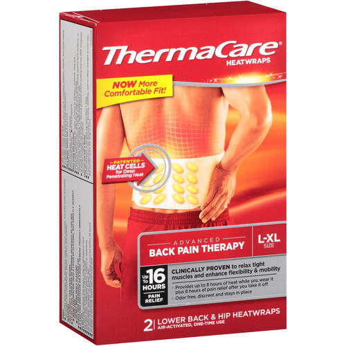 ThermaCare Heatwraps Pain Relief, Back