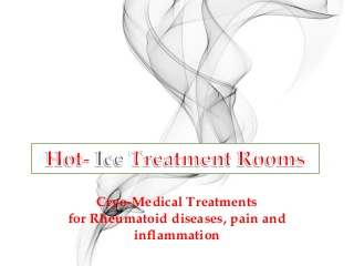 Cryo-medical how cryotherapy ease the symptoms of arthritus & inflammation