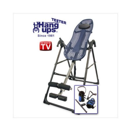 ... Edition Inversion Table with Gravity Boots and Back Pain Relief DVD