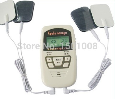 electronic pulse massager\/tens ems machine massager\/electrical nerve ...