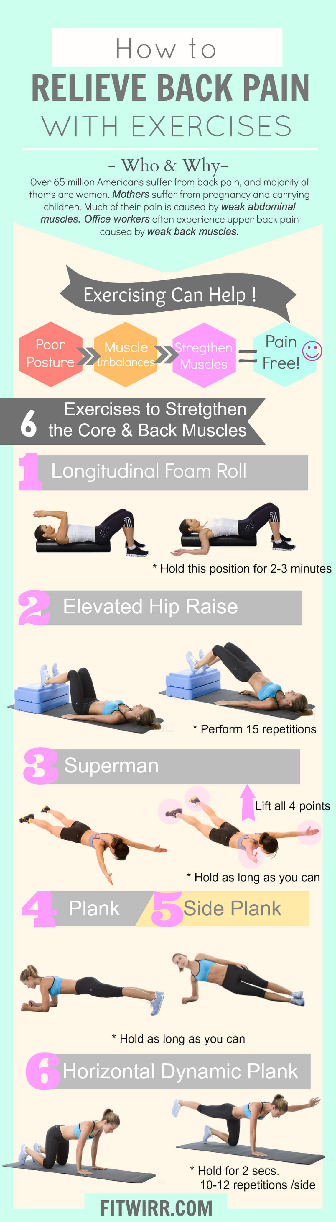 Exercise For Lower Back Pain Workouts Providing Pain Relief Pictures ...