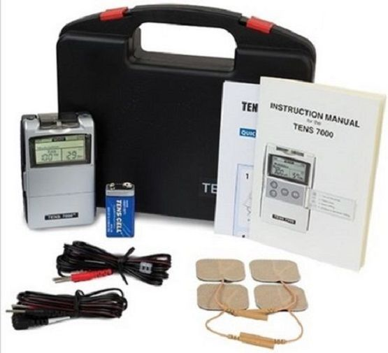 TENS 7000 Digital Back Pain Relief System Unit For Muscle