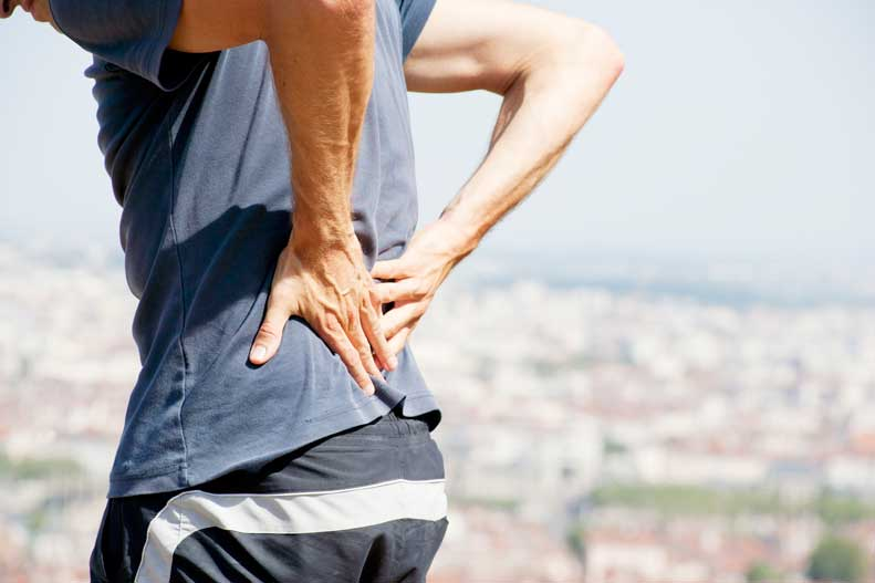 ... more about the causes of low back pain and lumbar disc degeneration