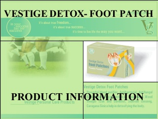 Detox foot patch training english