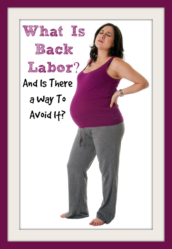 How Labor Back Pain Feels, How It