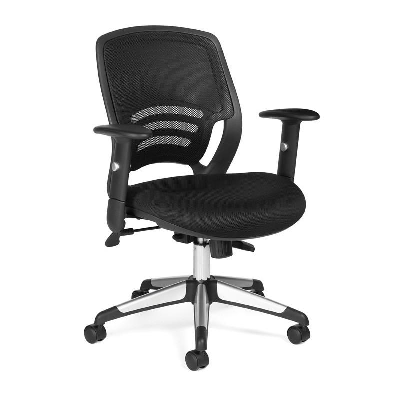 Mesh Back Office Task Chair For Back Pain Relief