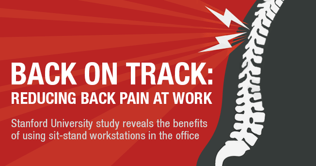 MoveMore Blog: Stanford Study Tackles Back Pain on the Job
