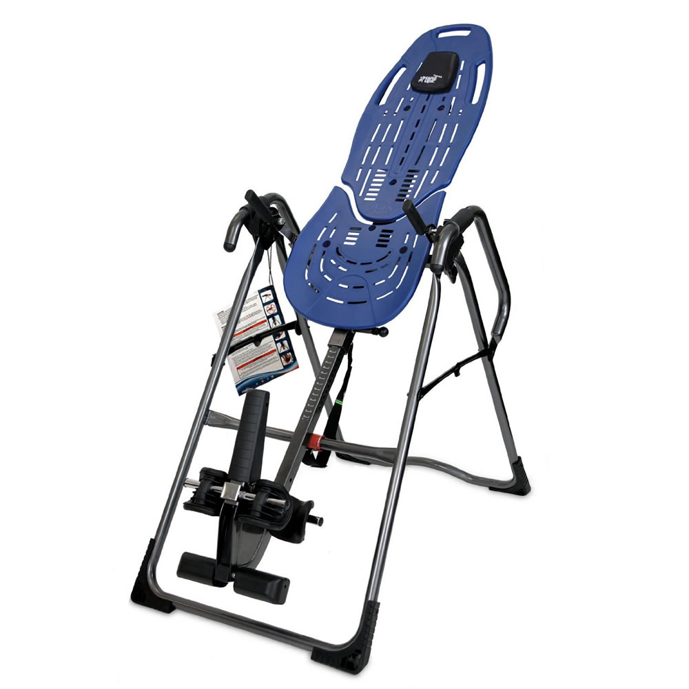 ... EP-960 Inversion Table - Home Gym Equipment for Back Pain Relief
