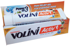 Buy Ranbaxy Volini Activ Pain Relief Gel - Powerful Pain Reliever ...