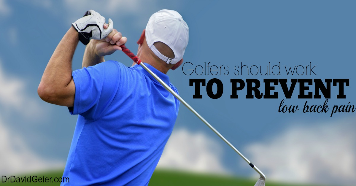 by golfers is low back pain low back pain accounts for over one third ...