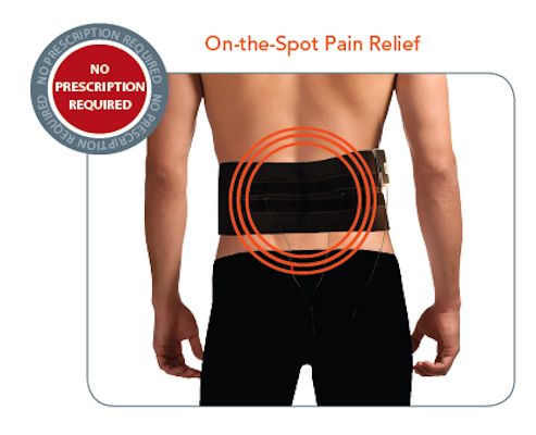 TENS 7000 To Go Back Pain Relief System Unit For Muscular