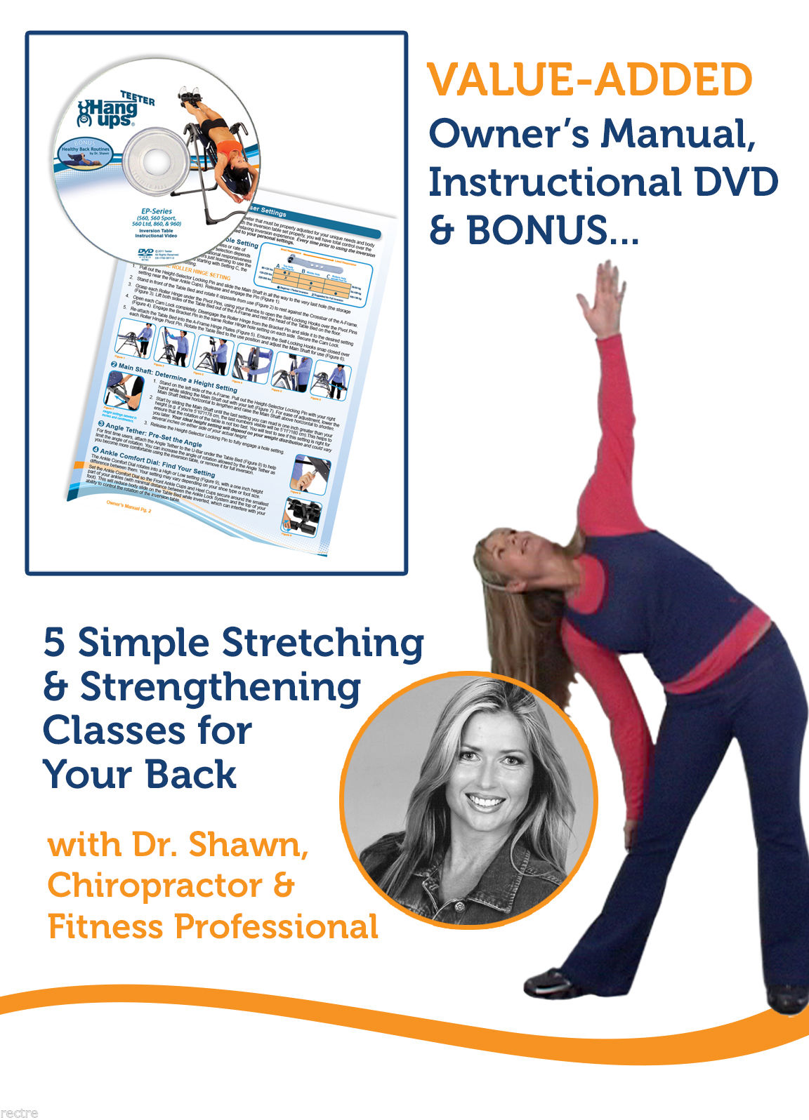 Healthy Back DVD Content: FIVE 10-15 minute Healthy Back exercise ...