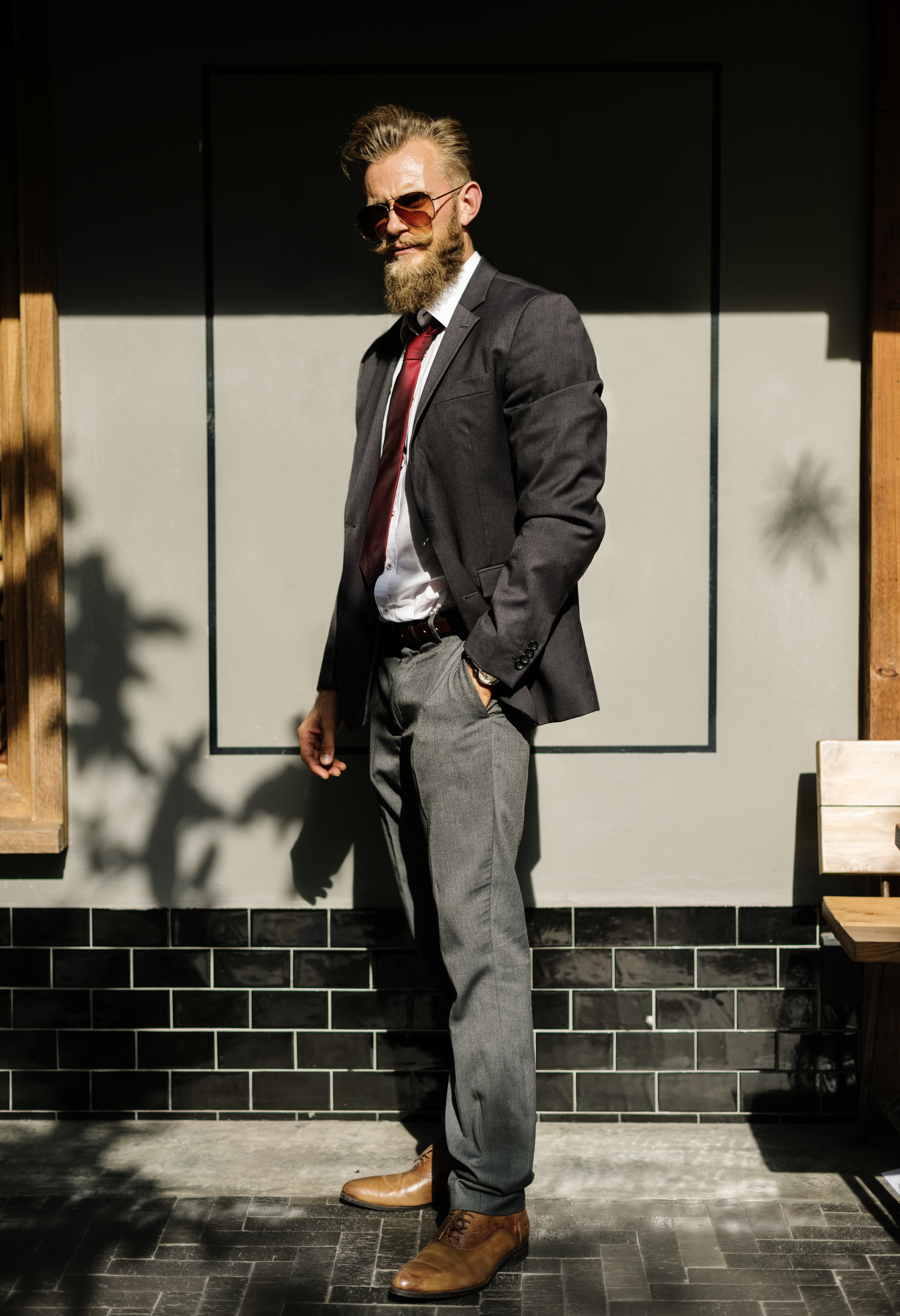 Free stock photo of fashion, man, person, suit