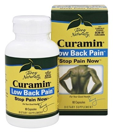 ... Naturally Curamin Low Back Pain - 60 Capsules at LuckyVitamin.com