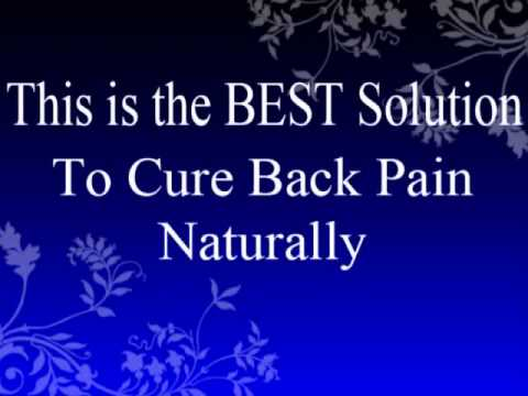 Back Pain Relief 4 Life - How to Cure Back Pain Naturally - PopScreen