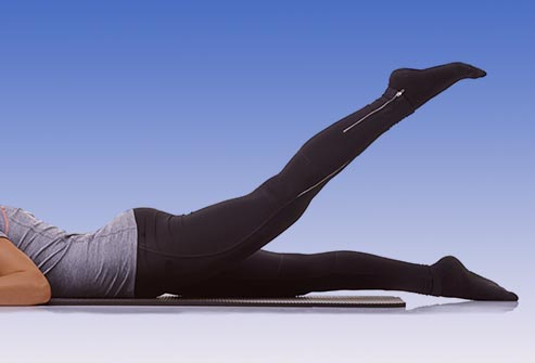 prone straight leg raises lie on your stomach with your legs straight ...