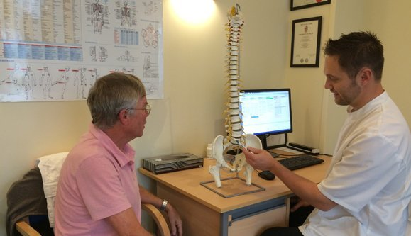 Back pain treatment in Worthing and throughout Sussex