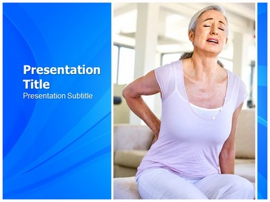 Back Pain Exercise PowerPoint Backgrounds - Slideworld