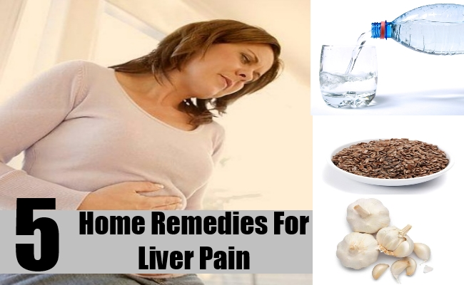 ... Liver Pain - Natural Treatments