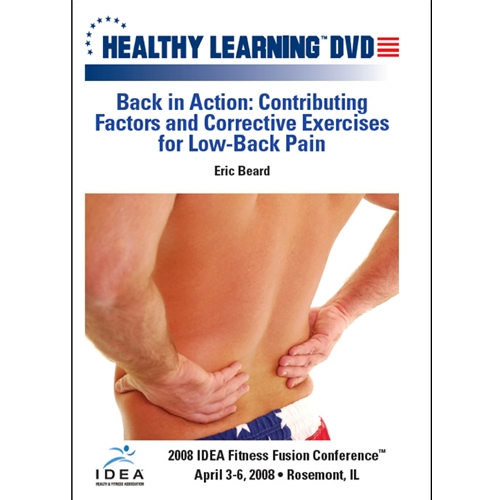 ... Exercises For Low-Back Pain - DVD Format - 827008309399-Dvd