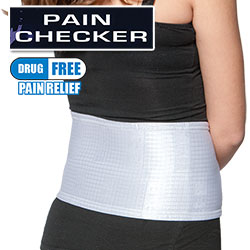 ... Pain Checker back band is a revolutionary way to combat nagging back