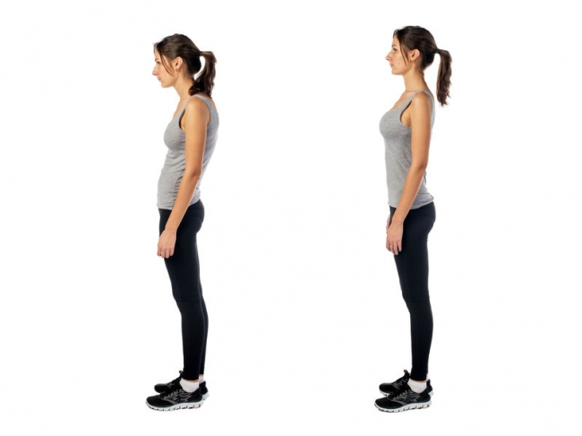 Perfect Posture Helps You Put Your Best Foot Forward