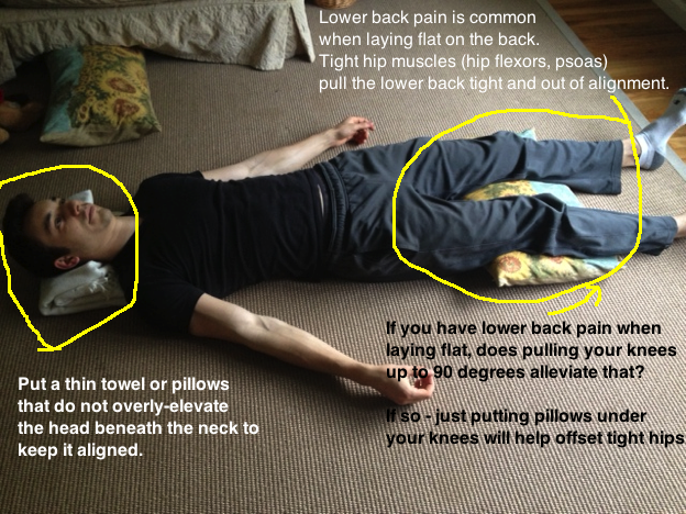 Posture Part III: Lying Down - Natural Health Center of Austin