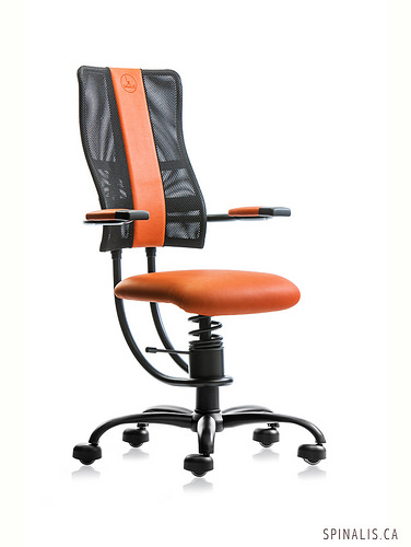 Highly Effective Treatment For Lower Back Pain with SpinaliS Hacker Series Chairs for Active Sitting in Canada