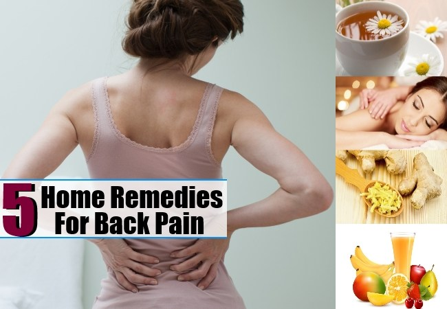 Beneficial Home Remedies For Back Pain - Health Care A to Z