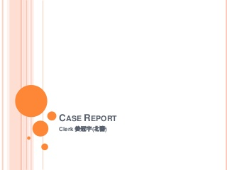 Case Report NS