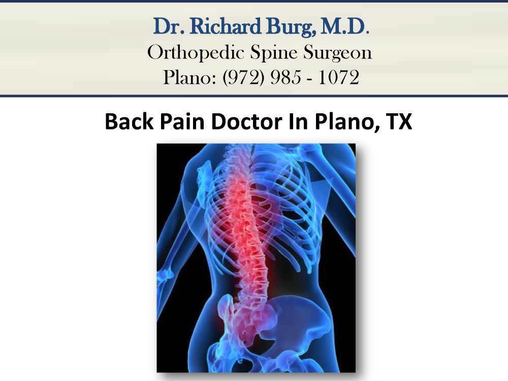 Back Pain Doctor in Plano TX -authorSTREAM
