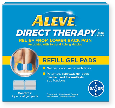 ... direct therapy refill gel pads aleve direct therapy refill gel pads