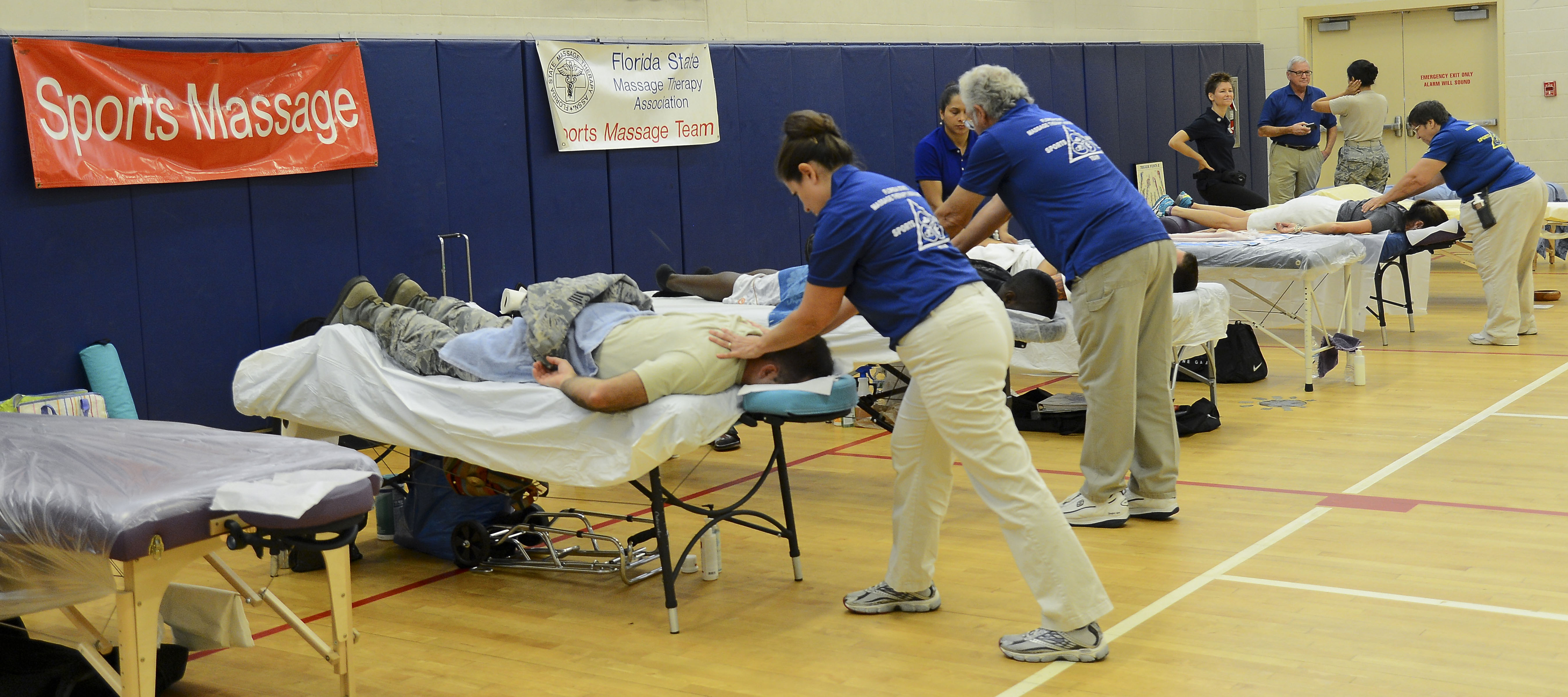 Free Massages from Caring Hands
