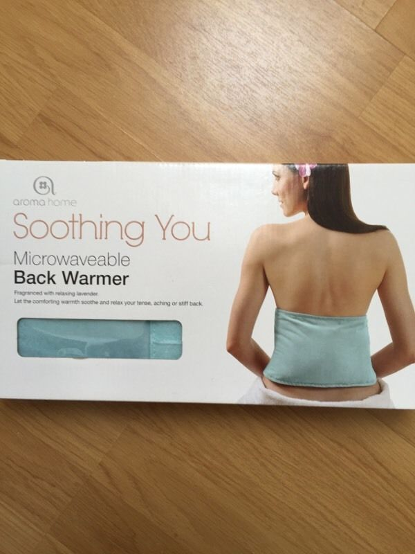 Soothing, pain relieving back warmer - United Kingdom - Gumtree