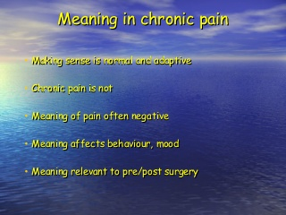 Chronic Pain After Surgery Meaning