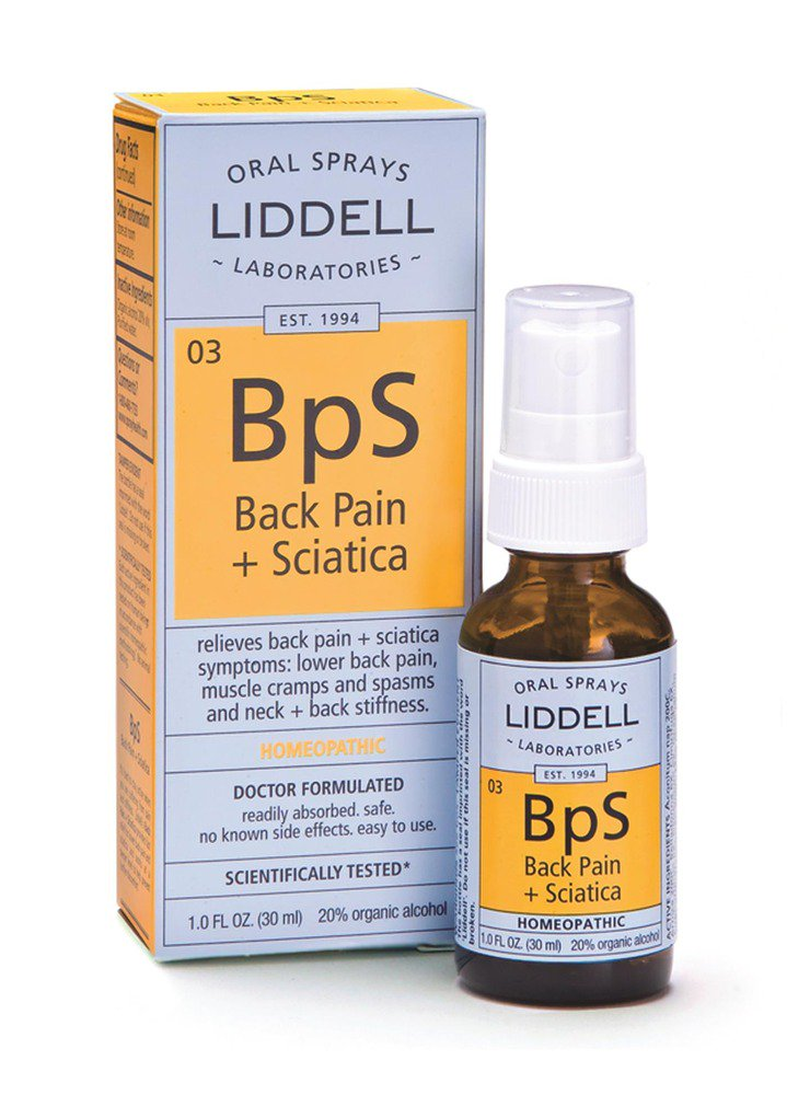 Back Pain Sciatica (BpS) Liddell Homeopathic 1 oz Liquid 363113131963 ...