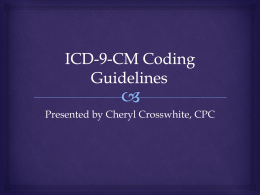 Appendix: ICD-9-CM Inclusion and Exclusion Codes for Lumbar