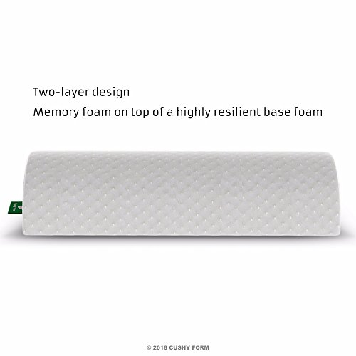 Back Pain Relief Half-Moon Bolster \/ Wedge - Provides Best Support for ...