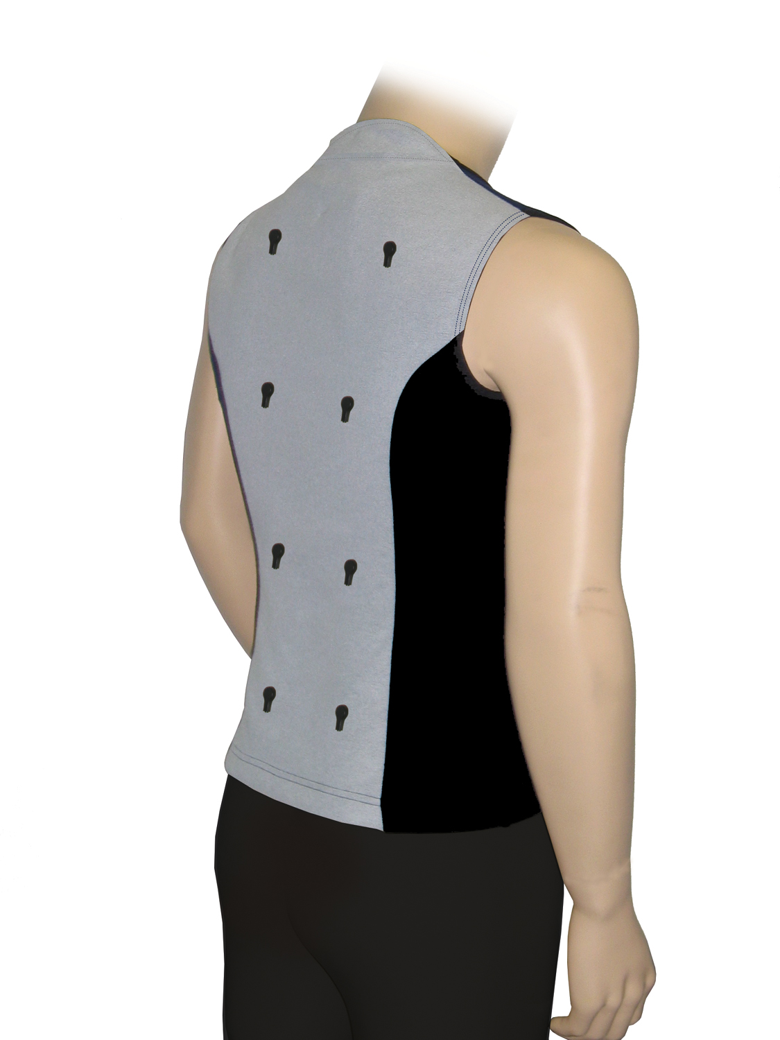 Full Back Garment Vest, Small - BMLS