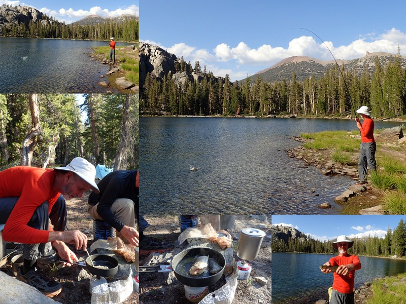 The following morning, the crew woke early and quickly packed up camp - you get fairly efficient after 18 days! We dropped into Shadow Lake and then crossed ...