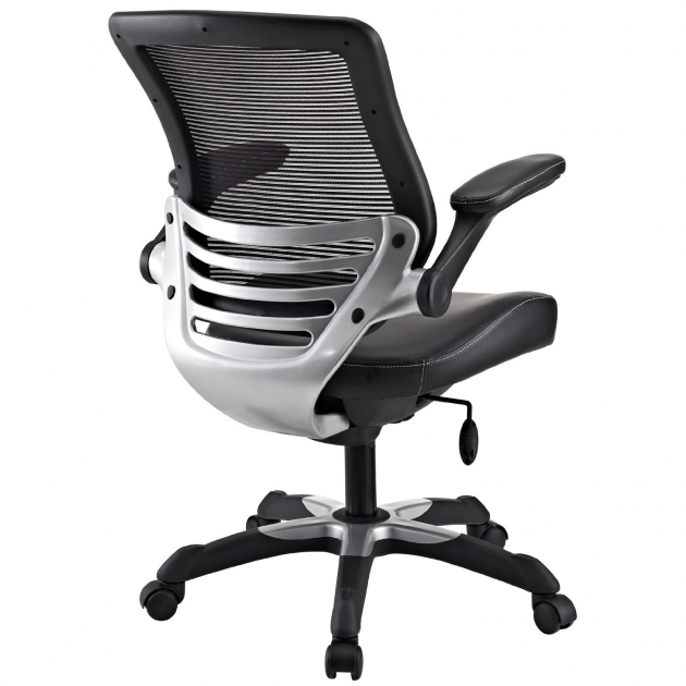 Office Chair For Back Pain Lexmod Edge Office Chair With Mesh Back ...