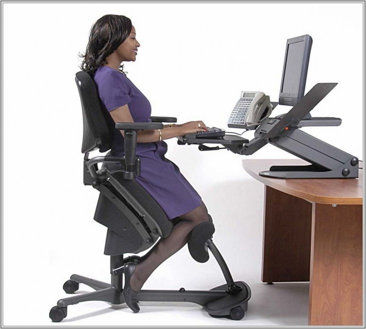 Angle Chair For Back Pain in Office Chair