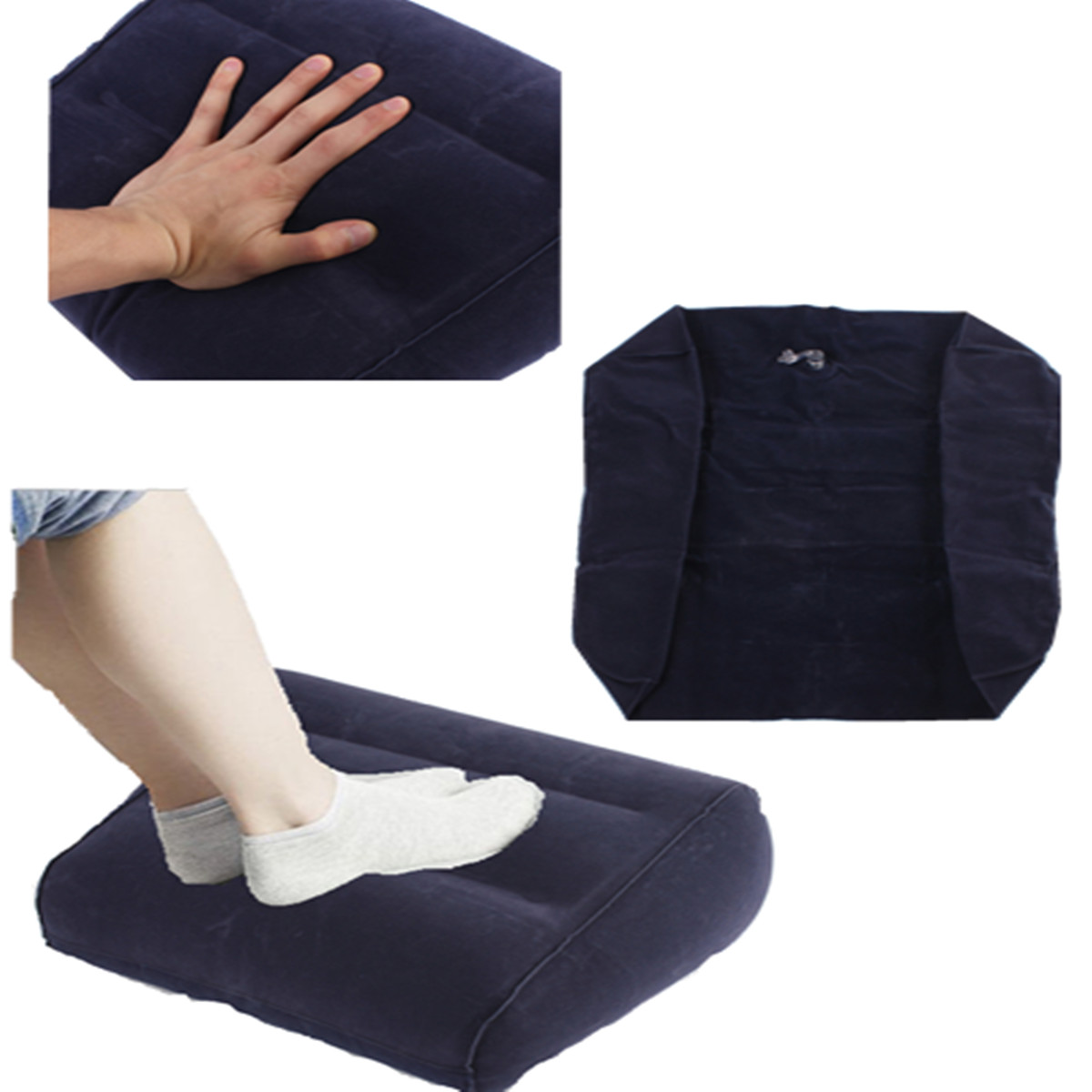 ... Foam Leg Pillow Orthopedic Firm Knee Support Pain Relief+Cover - eBay