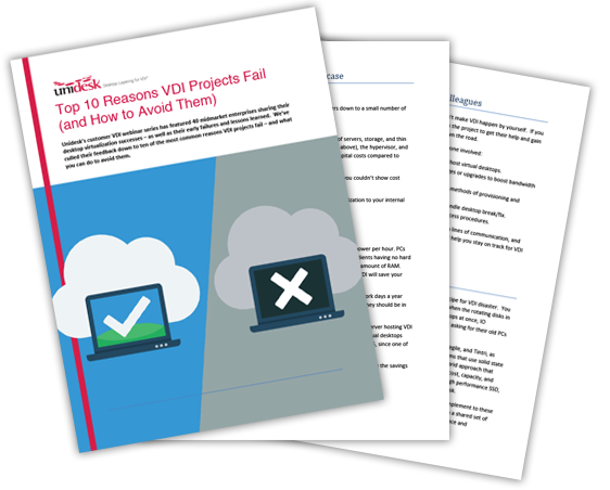 Top 10 Reasons VDI Projects Fail (and How to Avoid Them)