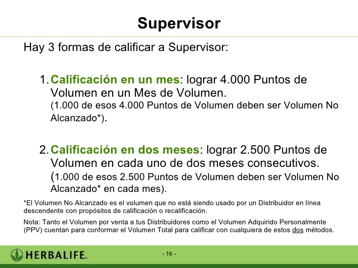 Herbalife - Mejoras Plan de Marketing