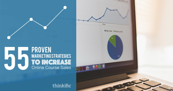 55 Proven Marketing Strategies To Increase Online Course Sales